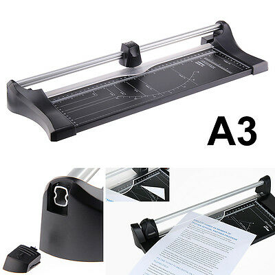A3 Precision Photo Paper Cards Cutter Trimmer Home Office Arts Length Adjustable