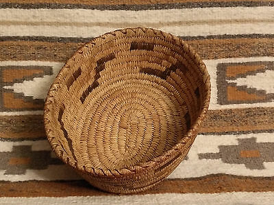 Papago South West Indian Oval Basket Circa 1930s