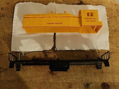 Lionel Part Post War UP SW-2 Diesel Locomotive shell  With Chassis Frame
