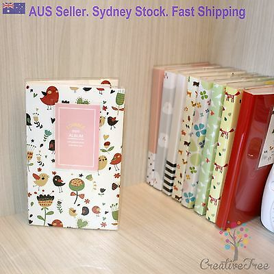 Photo Album for INSTAX MINI 8 or 7 and Polaroid 300- 84 pocket - 18 styles avail