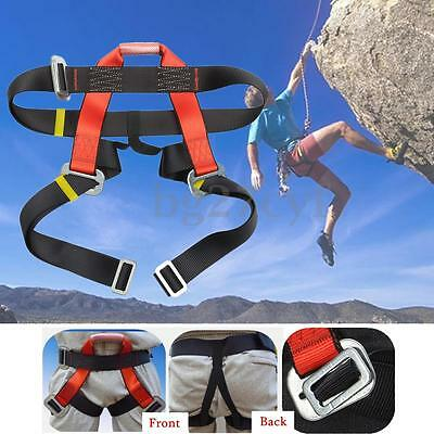 Outdoor Rescue Rock Climbing Sitting Bust Seat Safety Belt Rappelling Harness