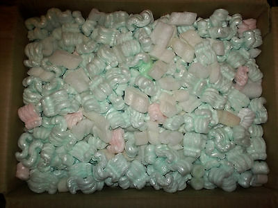 RECLAIMED CLEAN PACKING PEANUTS  with Free Shipping