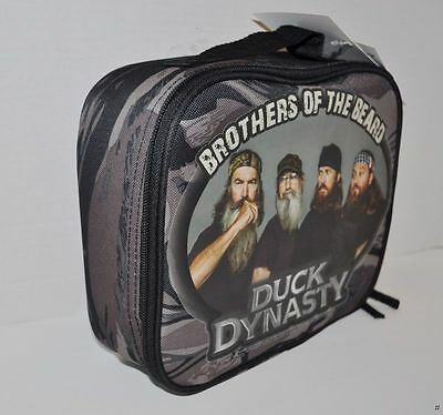 Duck Dynasty Soft Camo Lunch Box Tote Insulated NWT