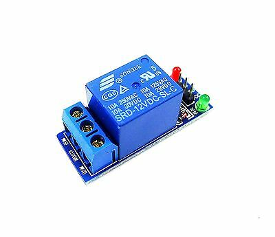 GERI 12V 1 Channel One Channel Relay Module High Level Triger for Arduino AVR...