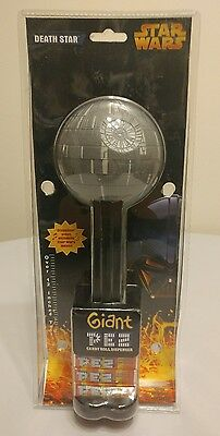 """Star Wars Giant Pez Death Star 12"""" Tall Plays Music 2005 - RARE Collectible"""