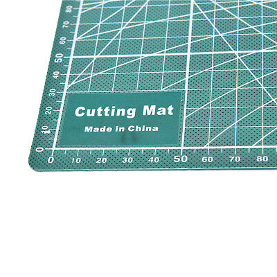 PVC Cutting Mat A4 Durable Self-Healing Cut Pad Patchwork Tools Handmade 30x22zp
