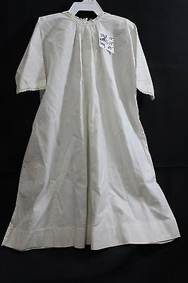 """Antique Night Gown UNDERGARMENT Lace Trim, 23"""" Long, Heirloom Early 1900"""