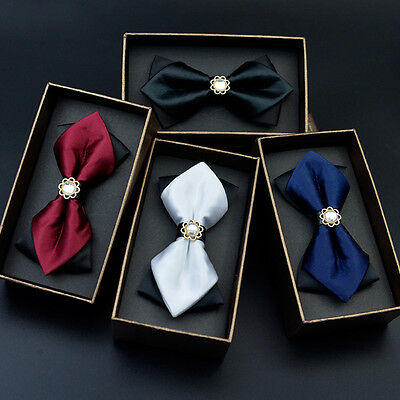 Hot Sale Men Fashion Solid Color Bowtie Party Wedding Formal Bow Tie New Arrival