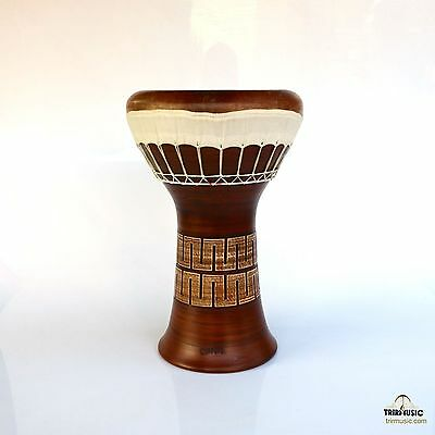 Professional Clay Ceramic Solo Darbuka Drum By Emin Percussion Doumbek EP-104-A