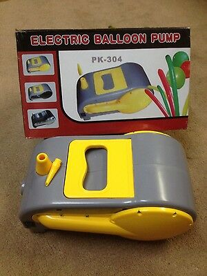12 Volt DC Balloon Pump Parties Inflatables Pump Mattress Pump Camping Pump