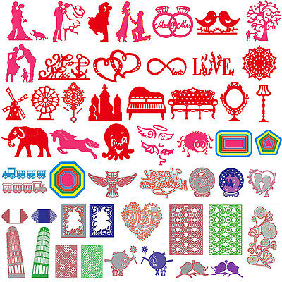 New Metal Cutting Dies Stencil DIY Scrapbooking Embossin Card Craft Wedding Love