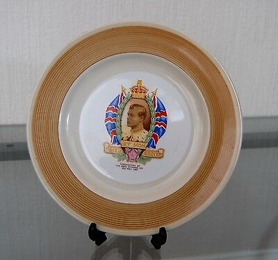 Vintage Coronation Rare 'Shelley' Plate King Edward Viii 1932