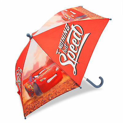 Disney Store Pixar Cars Movie Lightning McQueen Boys Red Umbrella for Kids NEW