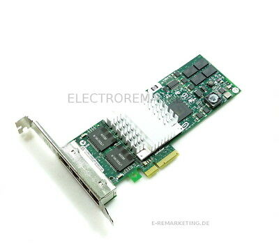 HP NC364T Full Profile Quad Port 436431-001 435506-003 HSTNS-BN26 Adapter