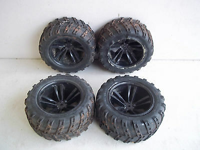 1/10 4WD R/C Off Road Wheels & Tyres (full front & rear set) For Traxxas