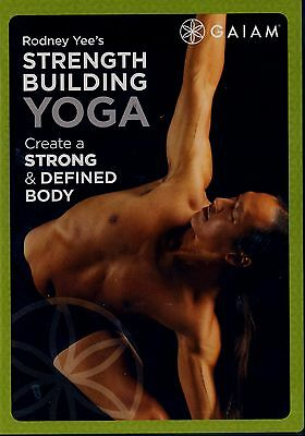 Brand New Dvd (New Without Shrinkwrap) // Galam // Strength Building Yoga