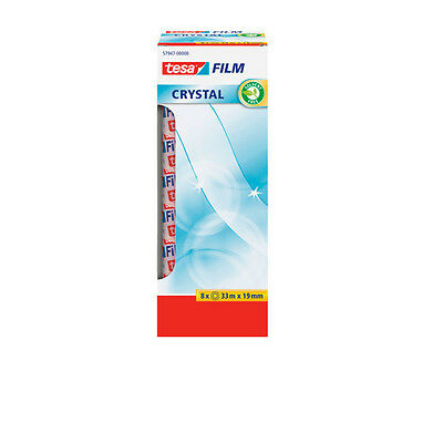 Tesa 8 cintas Tesafilm crystal 33mx19mm 57947-00000-00
