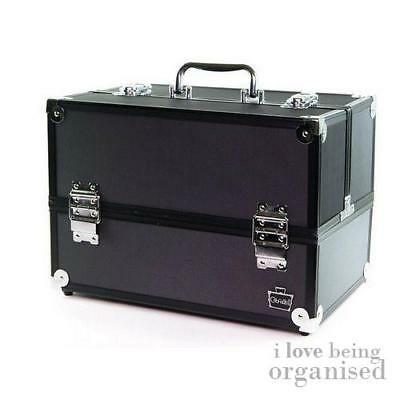Caboodles Makeup Case Train Professional CosmeticTravel Artist Organiser Storage