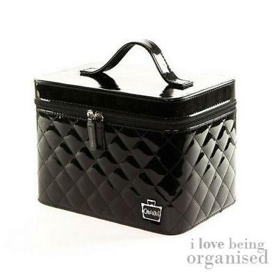 Nail Technician Carry Case | Caboodles Celebrity Nail Valet Black Patent