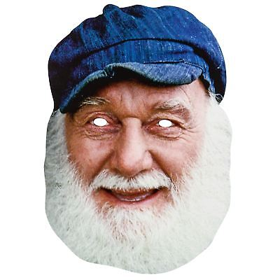 Uncle Albert Official Only Fools & Horses 2D Card Party Face Mask Fancy Dress