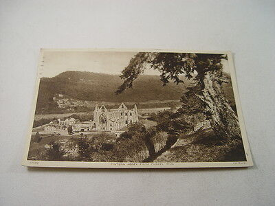 TOP8782 - Frith's Postcard - Tintern Abbey from Chapel Hill 1952
