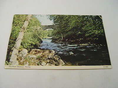 TOP7675 - Postcard - The River Deveron, Huntly