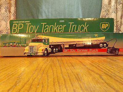 1992 BP Toy Tanker Truck with wired remote control