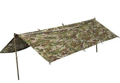 BRITISH ARMY STYLE WATERPROOF SHELTER COVER BASHA in MTP MULTICAM CAMO
