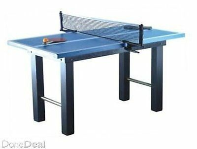Kids' Wooden Ping Pong Table On Legs