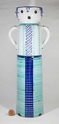 LIMITED RE-EDITION BITOSSI & FIGLI FIGURAL VASE by ALDO LONDI, Numbered 022/199