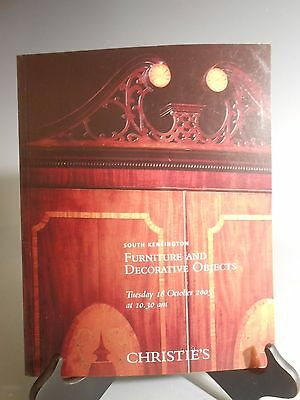 Christie's South Kensington Furniture & Decorative Objects 18 October 2005