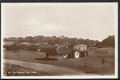 Middle East Postcard - The Sappers' Bay, Aden    MB1279