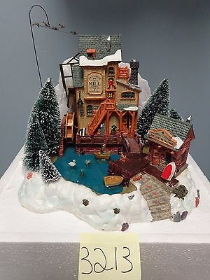 Lemax Village Collection Oak Grist Mill 36321 As-Is 3213