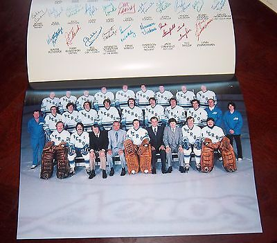 Houston Aeros Team Photo 1977-1978 In appreciation of your support