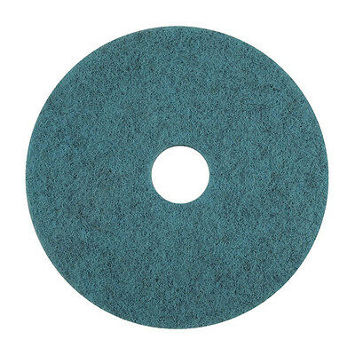 "21"" Natural Blue Blend Floor Pad, Case of 5"