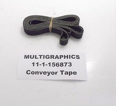 MULTIGRAPHICS 11-1-156873 Conveyor Tape - Prepaid Shipping (M-11-1-156873)