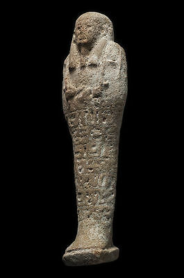 "Large Ancient Egyptian Ushabti Late period, ca. 700-30 B.C.Size:8""H."