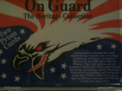 1992 Bon Air On Guard The Heritage Collection Factory Trading Card Set 63 Cards