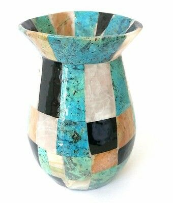 Great mexican colorful flower vase