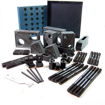 """Gibraltar 04805545 50 Piece, 1-1/2"""" Wide Step Block and Clamp Set, 8258ZIQ1"""