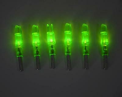 12pcs Archery LED Lighted Arrow Nocks for Compound Bow Croosbow Hunting Target