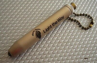 Western Electric AT&T Keychain Flashlight Home Team 1980 Olympics Bell Telephone