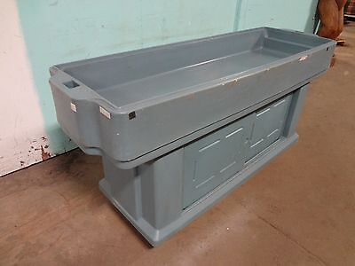 """"""" Cambro """" Heavy Duty Commercial Portable Youth Height Cold Food Buffet Bar"""