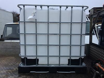 Used Ibc 1000 Litre Liquid Containers Water Butt Waste Oil Diesel Oil Petrol