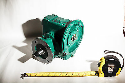 Master Power Right Angle Gear Reducer  56   40:1 Ratio   56WG16F40