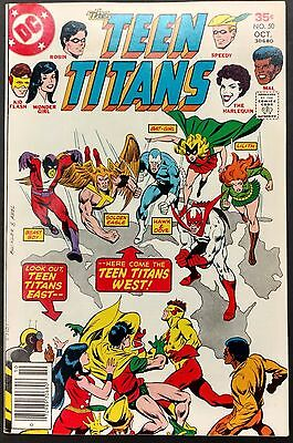 Teen Titans #50 1977 Gorgeous Vf/nm Capt.calamity,teen Titans West,bat-Girl!