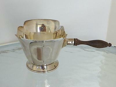 LARGE Estate CARTIER Sterling Silver Brandy Chocolate Sauce Warmer Valentine Day