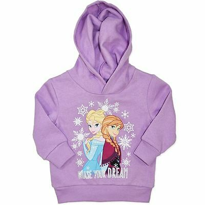 Frozen - Girl's Hoodie - Jumper - Size 1 To 6 Available - New
