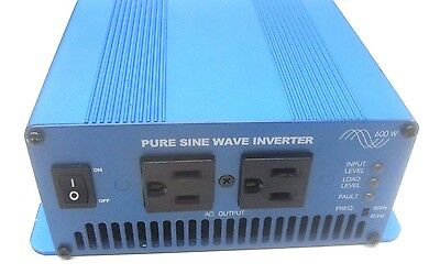 Nova Electric S600-124 Pure Sine Wave Inverter Cgl600W-24-120