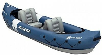 Sevylor Riviera Inflatable Kayak, Two Person